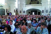 Koncert Marty Kubišové a Václava Neckáře navštívilo kolem pěti set lidí.