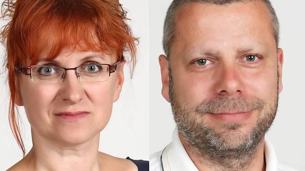 Noví místostarostové: Stanislava Tichá a Bořek Černý