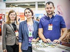 Náměstek pro oblast kultury Daniel Marek se veletrhu INWETWX-CIS 2017 také zúčastnil.