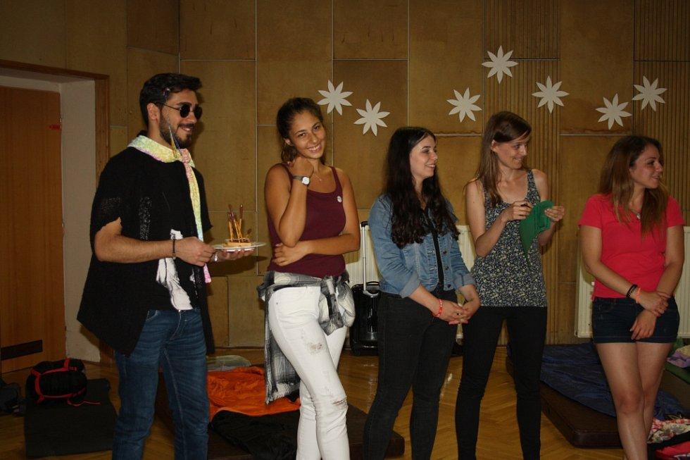 Mezinárodní kemp členů Klubu absolventů DofE