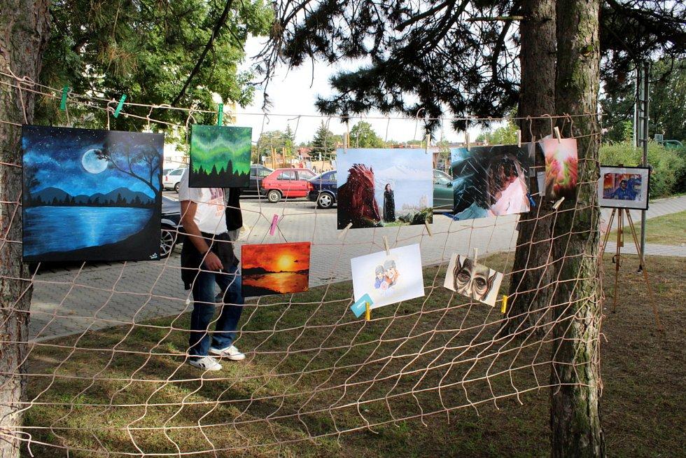 V Nymburce se v sobotu podruhé konaly sousedské slavnosti s názvem Zažít Nymburk jinak.
