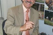 Jan Řekounek při autogramiádě
