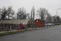 V těchto místech v Poděbradech mělo vyrůst obří parkoviště.