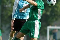 Z okresního derby krajského přeboru Polaban Nymburk - Semice (4:0)