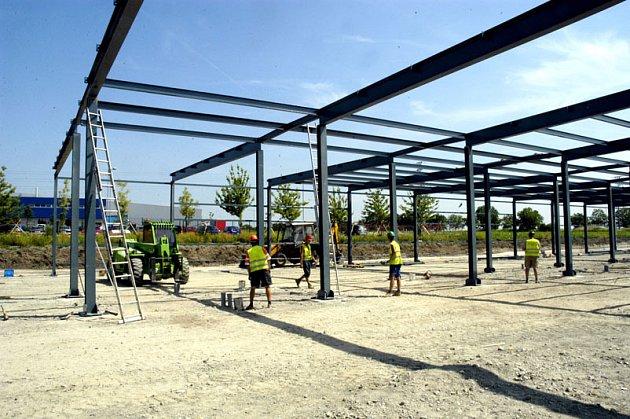 Práce na stavbě inkubátoru už sice začaly, slavnostně ale bude projekt zahájen až ve čtvrtek.