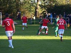 Fotbalové derby mezi celky Polabanu Nymburk a Ostrou skončilo bez branek.