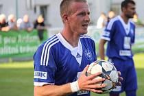 Maroš Klimpl hraje v současné době za Jíkev v krajské I.B třídě