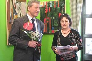 V Lesním ateliéru Kuba v Kersku vystavuje Josef Saska