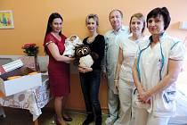První letošní miminko je z Kovanic.