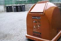 Kontejner na bioodpad například zavedli už v roce 2011 na ZŠ T.G. Masaryka v Poděbradech.