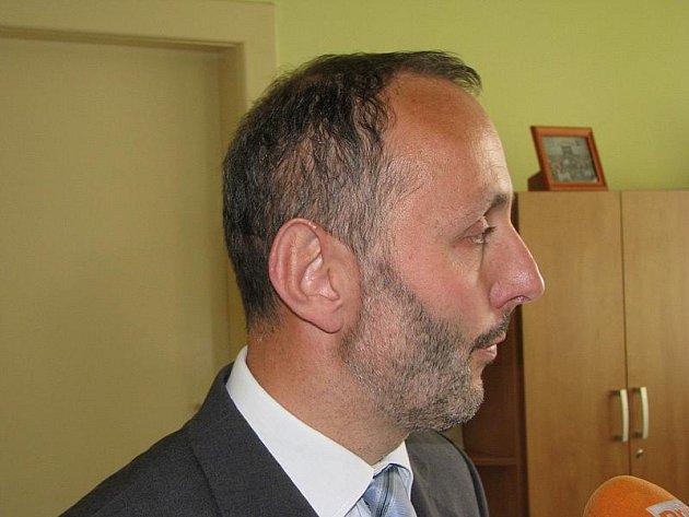 Ředitel ZŠ TGM Jindřich Monček