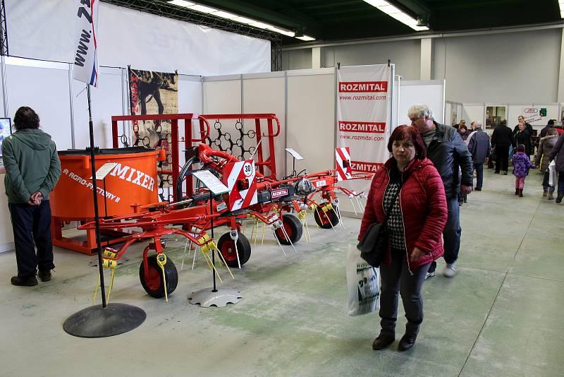Z výstavy Zemědělec na výstavišti v Lysé nad Labem.