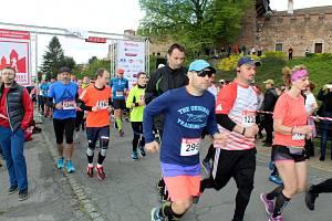 Nymburský půlmaraton a čtvrtka se běžely už posedmé.