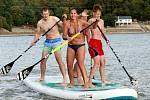První ročník paddleboardového festivalu bude hostit nymburská Špička.