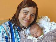 MATYÁŠ VESELÝ se narodil 13. dubna 2018 ve 22.24 hodin s délkou 50 cm a váhou 3 100 g. Na prvorozeného chlapečka už se těšili rodiče Petra a Pavel z Libice nad Cidlinou.