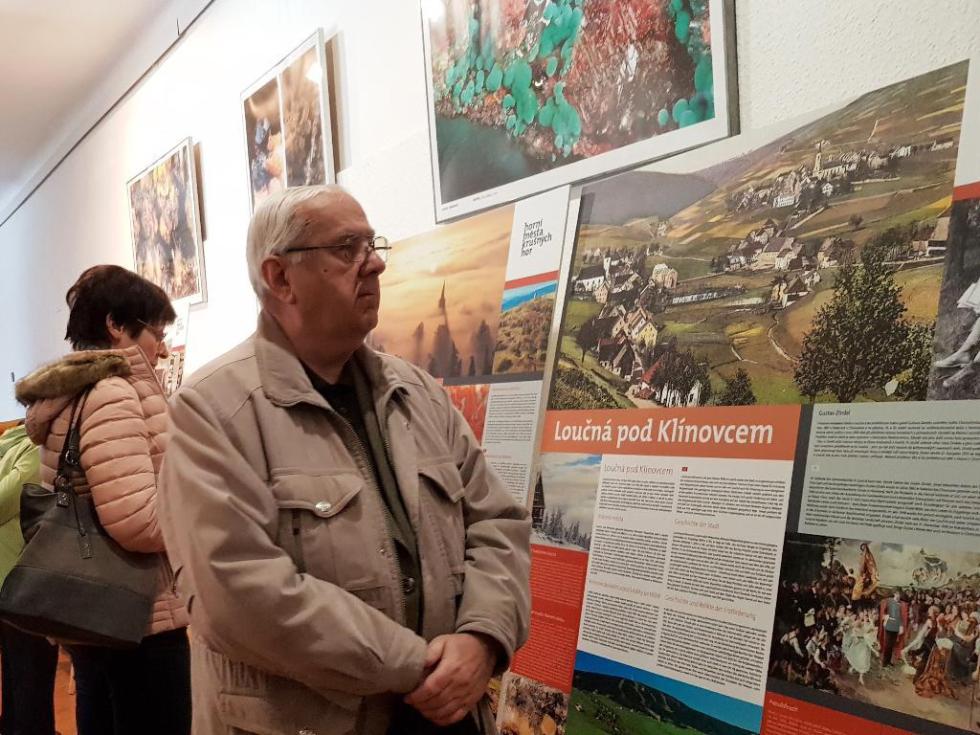 Výstava Horní města Krušných Hor v Jílovém u Prahy.