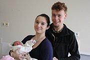 AMY Váchová (49 cm, 3 490 g) se narodila 16. 11. 2017 rodičům  Kristýně a Antonínovi.