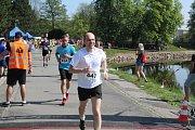 Už pošesté se běžel Nymburský půlmaraton.