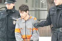 Zatčení lupiči a sexuální násilníci při převozu k domovní prohlídce
