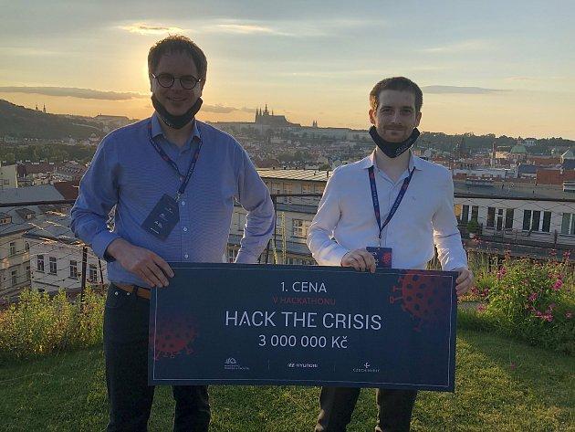 Český startup zVestce uPrahy DIANA Biotechnologies - držitel ceny Hack the Crisis CZ.