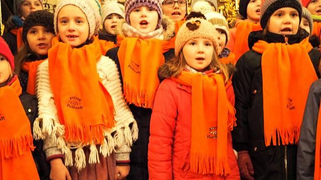 Vánoční koncert v kostele sv. Vavřince v Pátku.