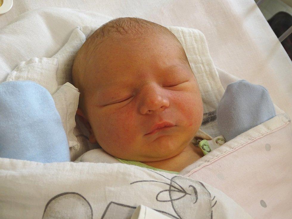 DANIEL BILECKYJ se narodil 8. ledna 2018 ve 2.20 hodin s výškou 51 cm a váhou 3 480 g. Z prvorozeného se radují rodiče Ivan a Terezie z Hradištka.