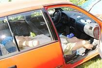 Josef Kohout každý večer uléhá do svého auta