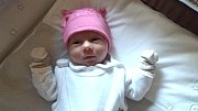 LILIEN ŽELONKOVÁ se narodila 22. října 2018 ve 13.35 hodin s délkou 45 cm a váhou 2 520g. Rodiče Marcela a Robert z Milovic se na prvorozenou holčičku předem těšili.