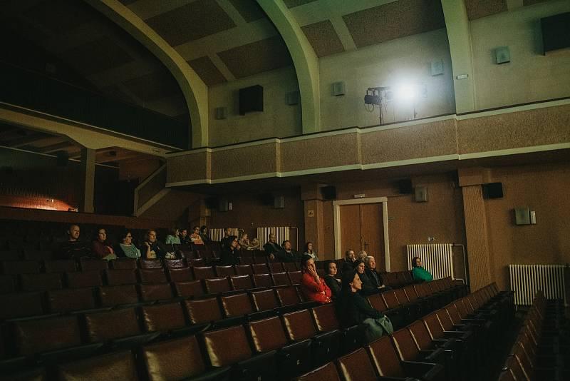 Z jubilejního 10. Dne architektury v nymburském kině.