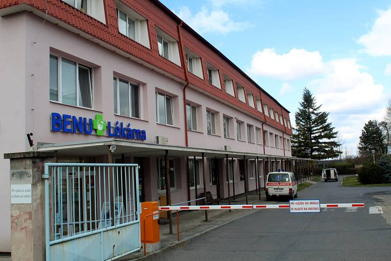 Nemocnice v Městci Králové.