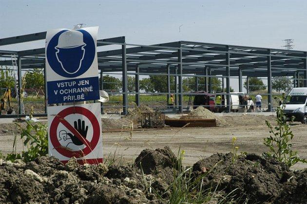 Základní kámen podnikatelského inkubátoru má být v budoucnu umístěn na čestném místě budovy.