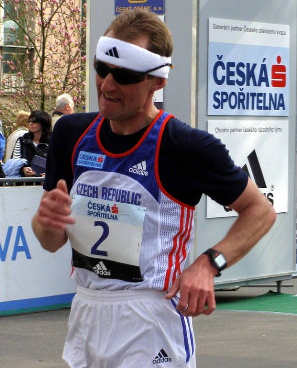 Miloš Holuša na dvacetikilometrové trati