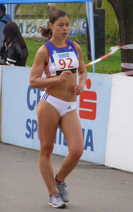 Lucie Pelantová byla druhá v pořadí mistrovství republiky