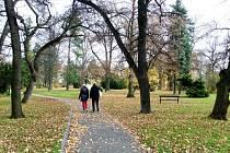 Purkyňův park v Poděbradech se stal místem loupežného přepadení