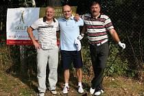 Z golfového turnaje v Poděbradech Golfi cup 2009