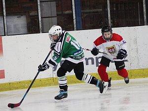 Hokej - Regionální liga žáků: Nymburk - Zbraslav (3:1)