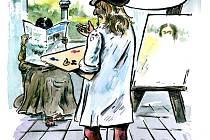 PF 2009 pro Nymburský deník od malíře Honzy Severy z Milovic