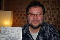 Novinář a jeden z největších aktivistů v listopadu 1989 v Nymburce Jaroslav Kmenta.