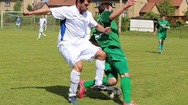 Z utkání fotbalové I.B třídy Libice n. C. - Bílé Podolí (0:0)