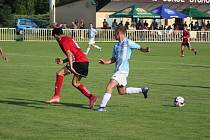 Fotbalisté Ostré porazili v derby Jíkev 4:2