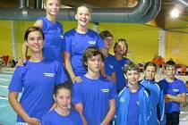 ÚSPĚŠNÍ. Plavci nymburské Lokomotivy vstoupili do nové sezony na výbornou. Závody v Berouně jim náramně vyšly