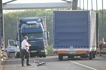 Nehoda na litolském mostu