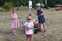 Prázdninová akce na loučeňském hřišti se rok od roku rozrůstá o další aktivity.