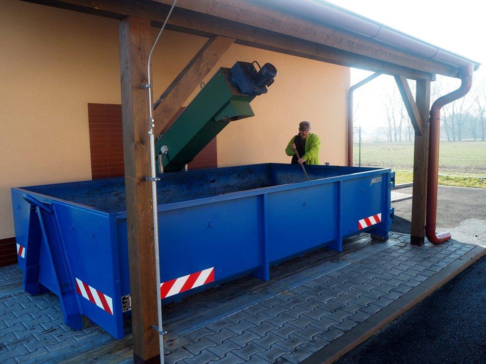 Součástí projektů vodovodu a kanalizace v Opolanech je i čistička odpadních vod.