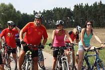 V Kostelní Lhotě startoval další ročník volného závodu Lhotecká cyklotřicítka.