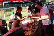 Food festival se konal na nymburské Špičce.