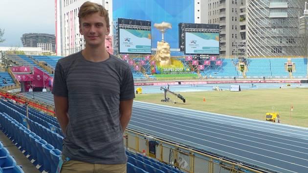 Lukáš Hodboď, český atletický reprezentant z Nymburka