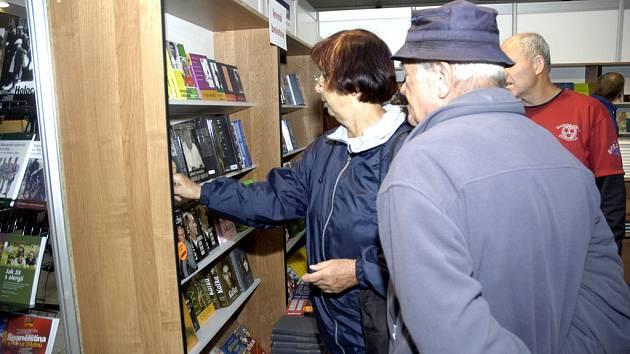 Každoroční veletrh se setkává s velkým zájmem čtenářů