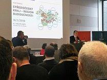 """Konference """"Středočeský kraj – region budoucnosti""""."""