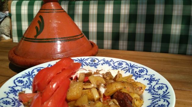 Marocký tažín po česku.